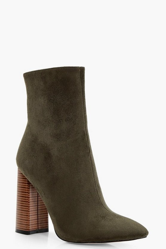 Ceri Pointed Shoe Boot