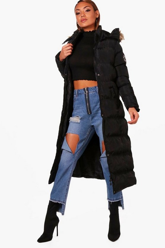 Sophie Maxi Quilted Coat