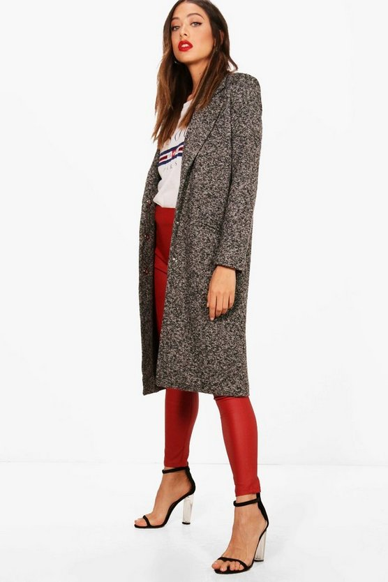 Alexandra Tailored Wool Coat