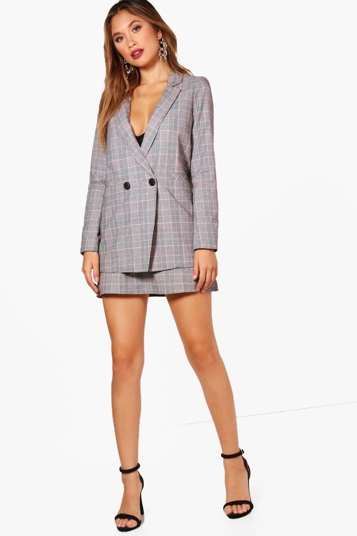 Premium Check Tailored Blazer