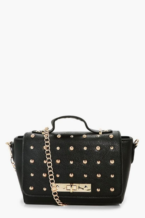 Lizzie Multi Stud Cross Body Bag