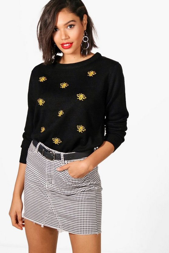 Bethany Bee Embroidered Jumper