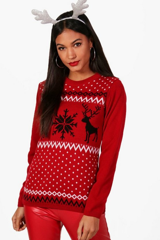 Rachel Fairisle Christmas Jumper