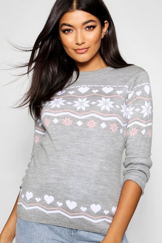 Freya Fairisle Christmas Jumper