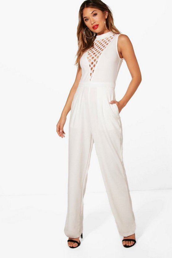 Cut Detail Jumpsuit