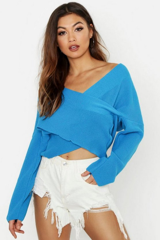 Lucy Wrap Jumper