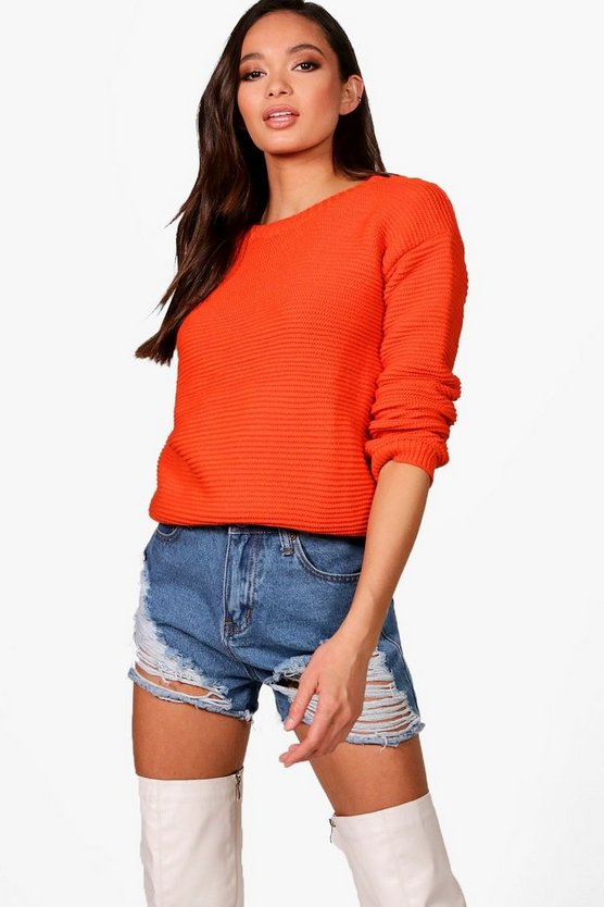 Lexi Rib Knit Crop Jumper