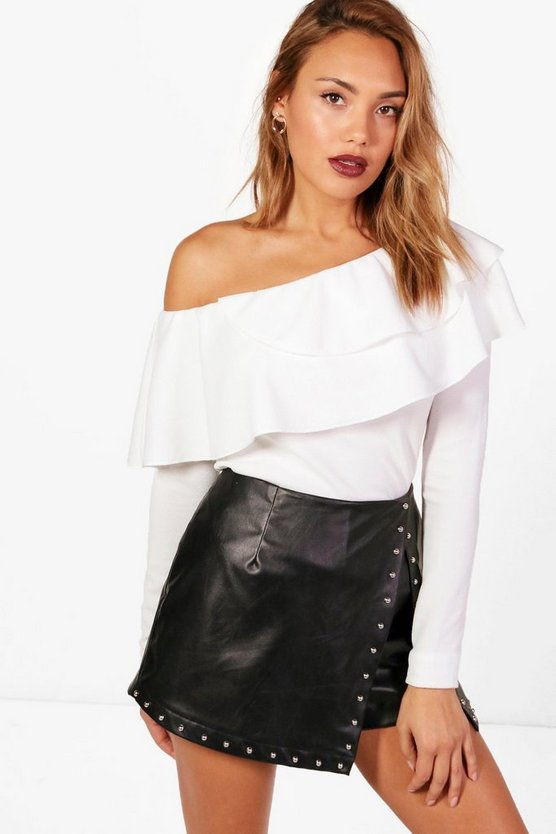 Willow Frill One Shoulder Top