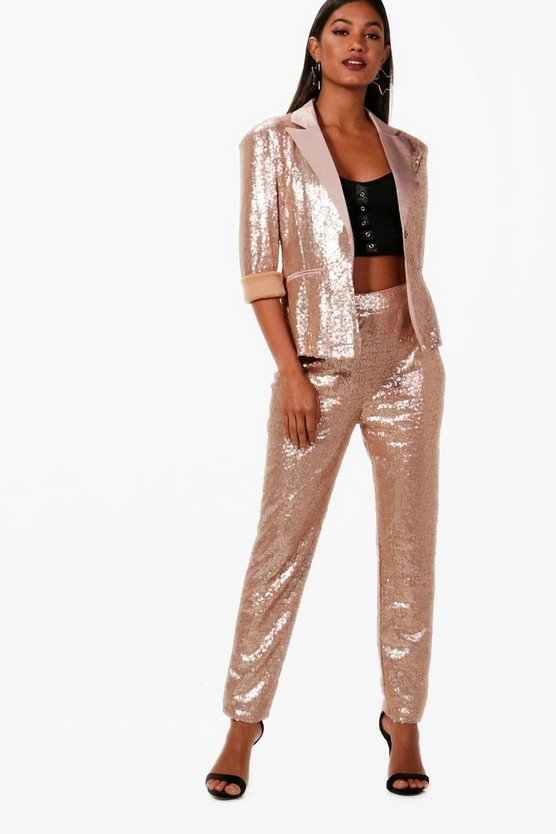 Boutique Annie Sequin Tailored Blazer