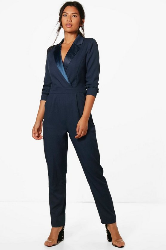 Tara Tailored Tux Jumpsuit