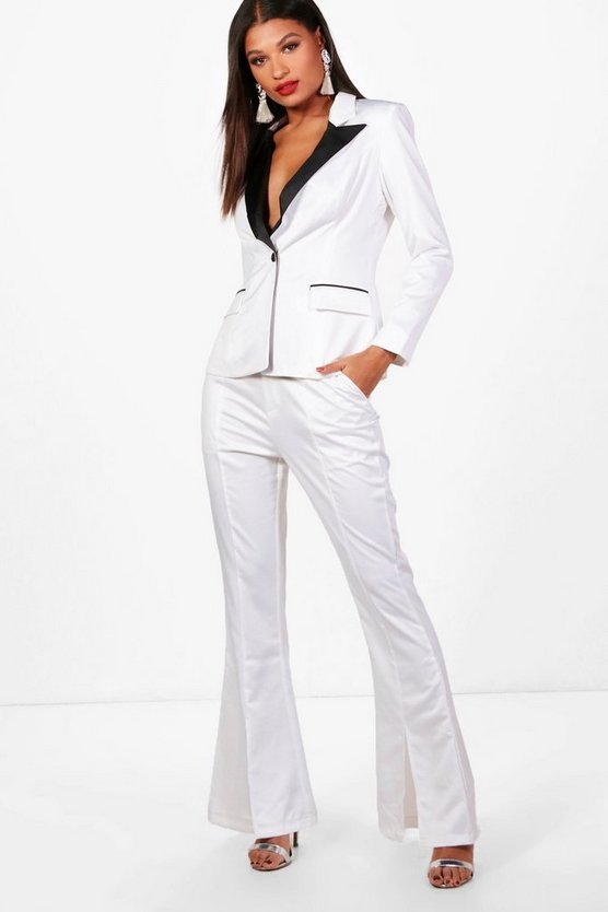 Heather Boutique Tailored Tux Trouser