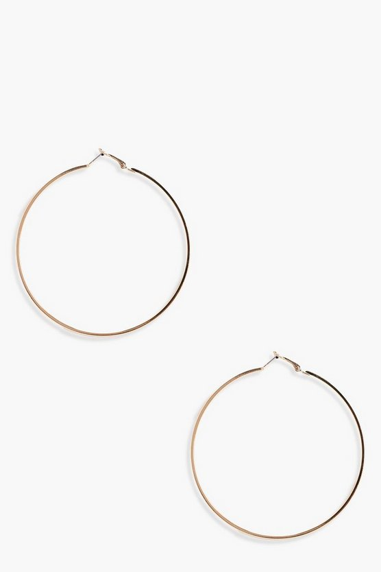Yasmin Oversized Hoop Earrings