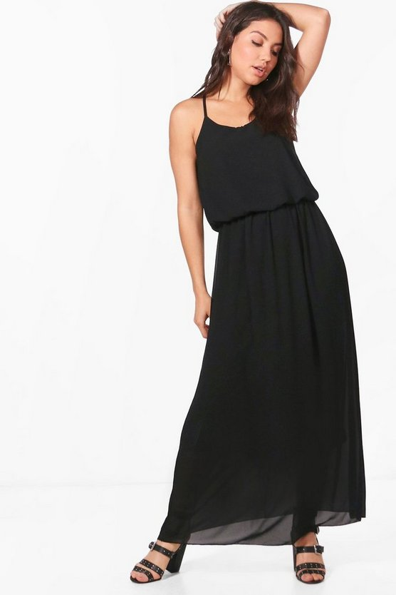 Bailey Woven Cami Maxi Dress