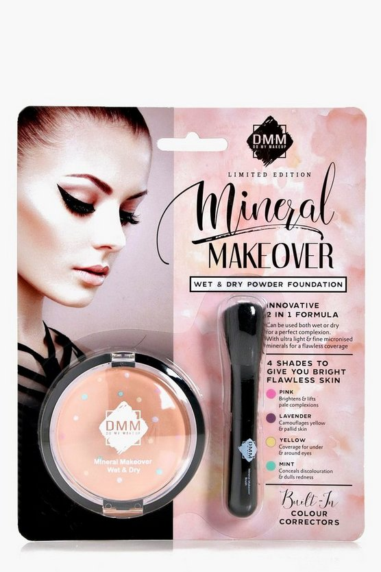 Wet And Dry Powder Foundation