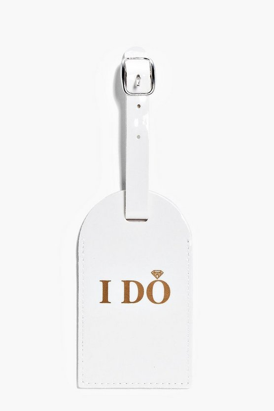 I Do Luggage Tag