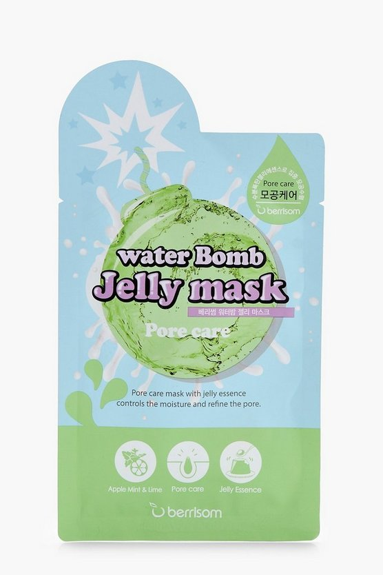 Berrisom Pore Care Water Bomb Jelly Mask