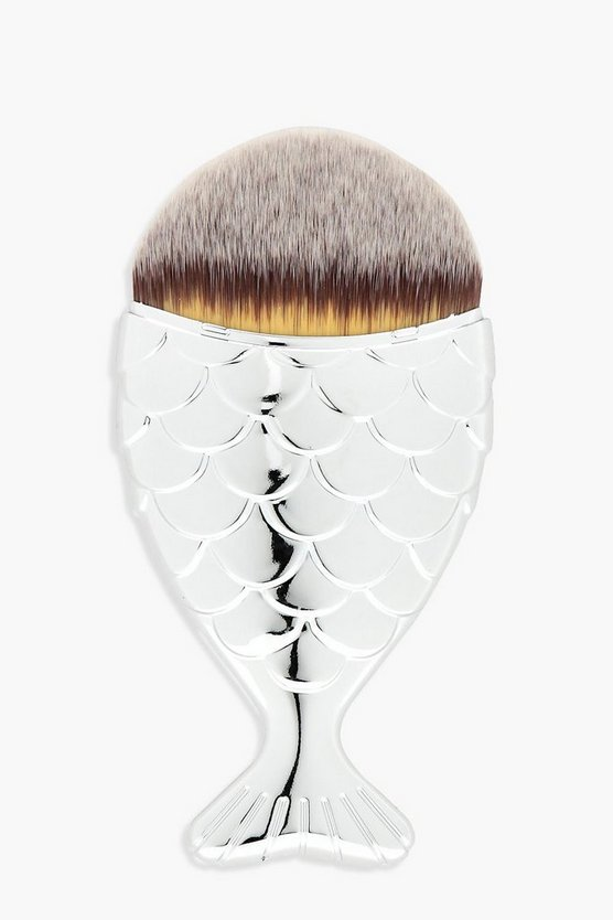 Silver Mermaid Brush