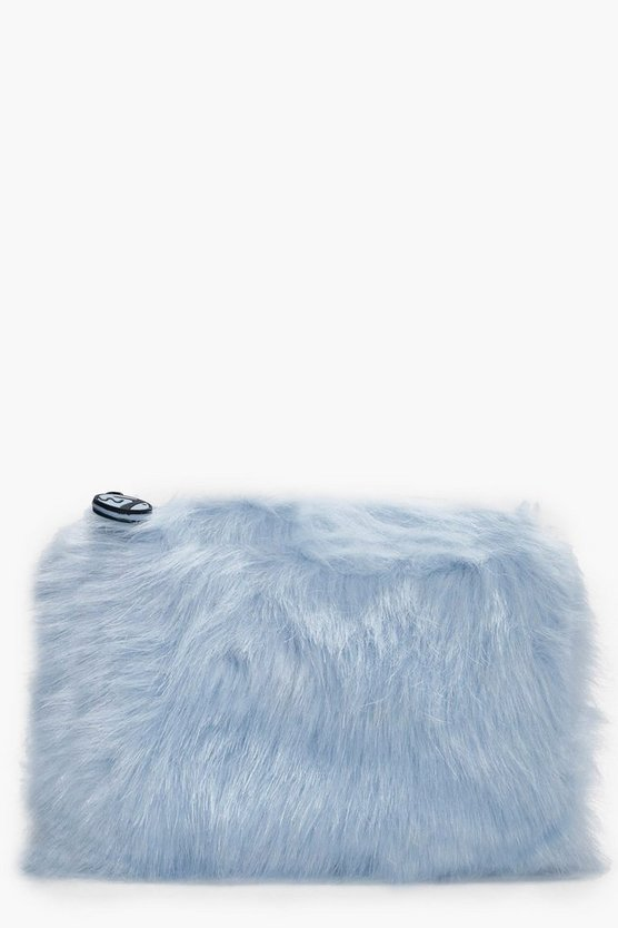 Medium Furry Make Up bag