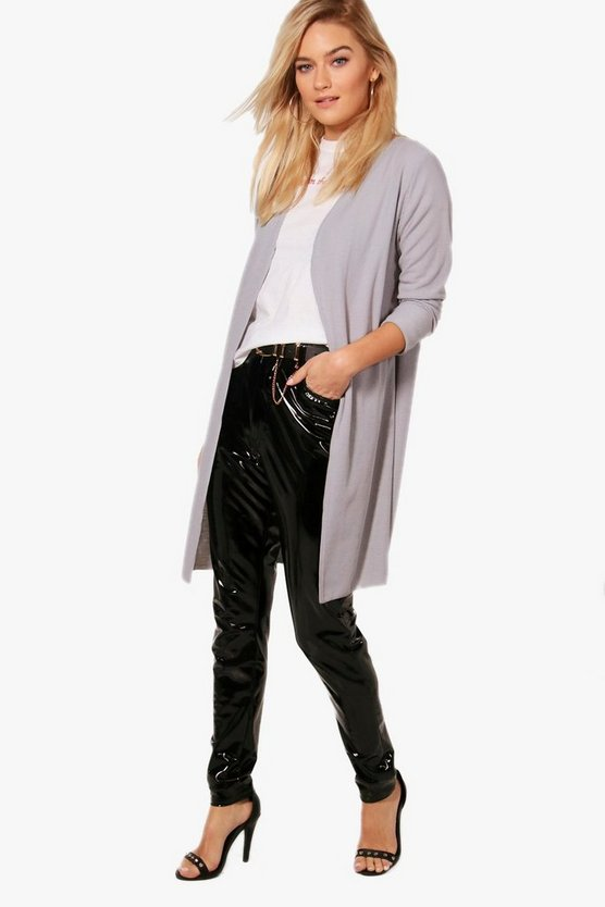 Scarlett Turn Up Cuff Fine Knit Cardigan