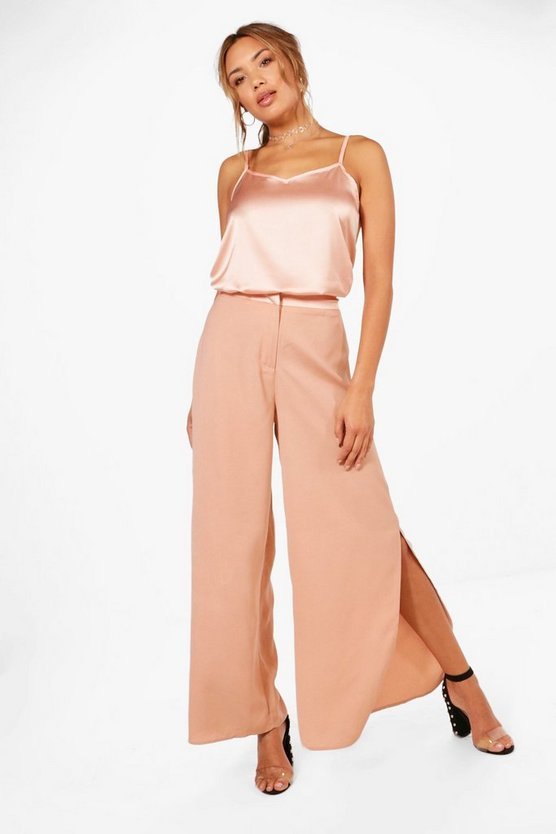 Isla Cami and Wide Leg Split Trouser Co-ord