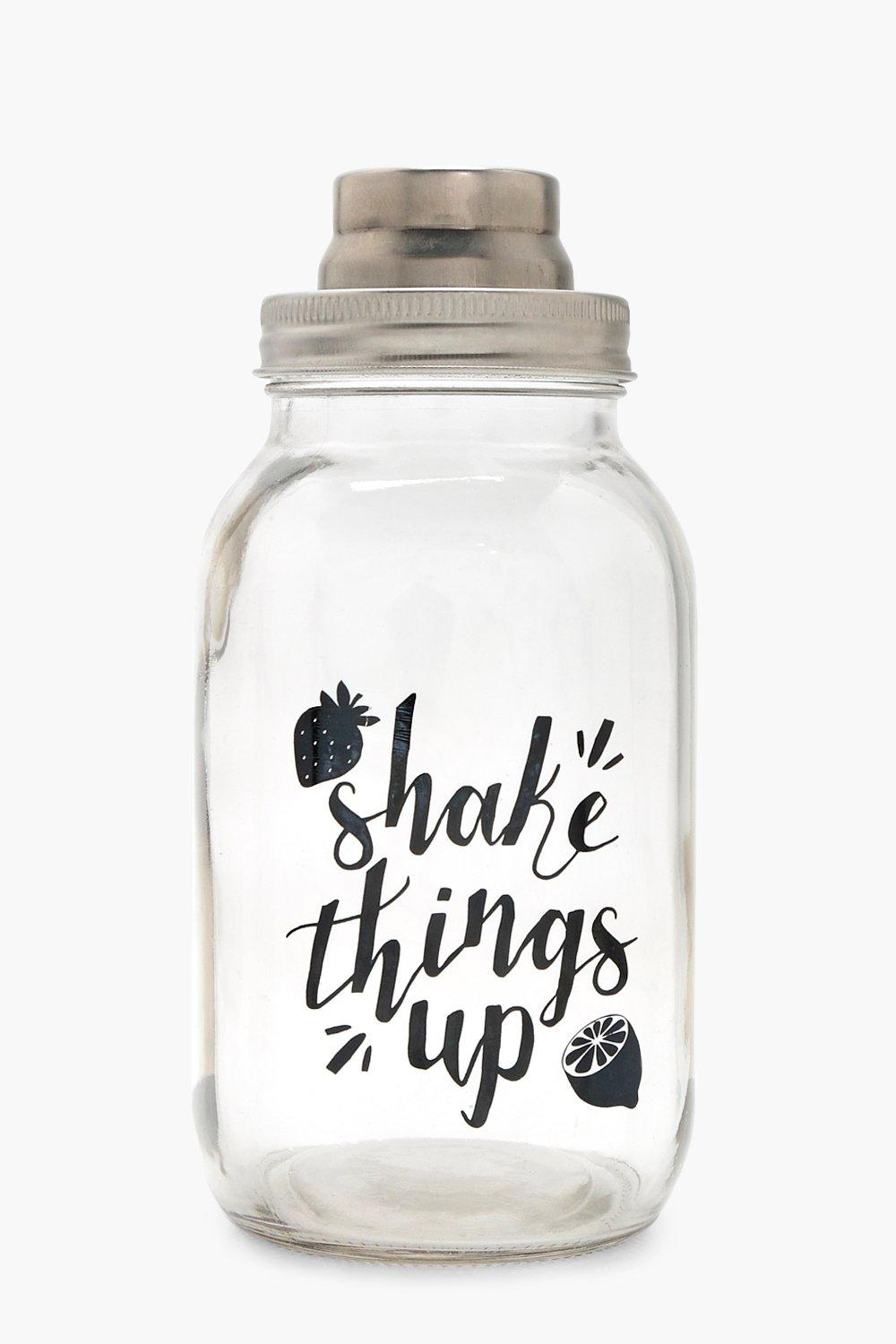 Shake Things Up Glass Cocktail - green - Penny Sha