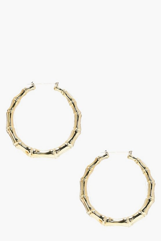 Heidi Oversized Hoop Earrings