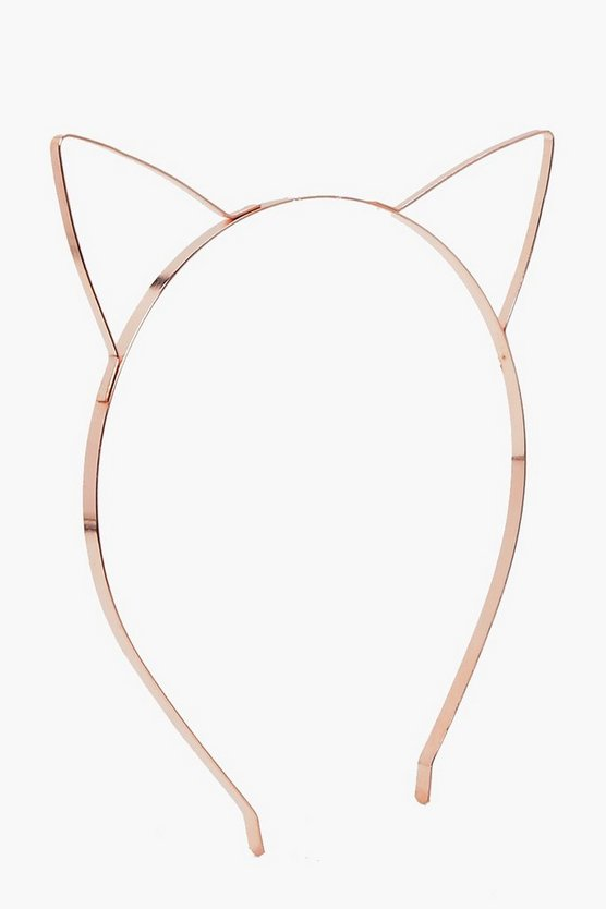 Maisie Metal Cat Headband