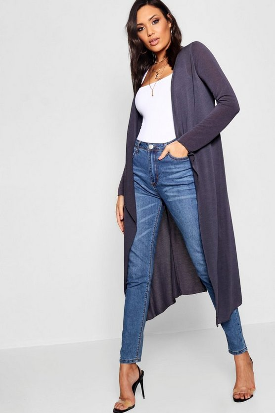 Jade Waterfall Maxi Cardigan