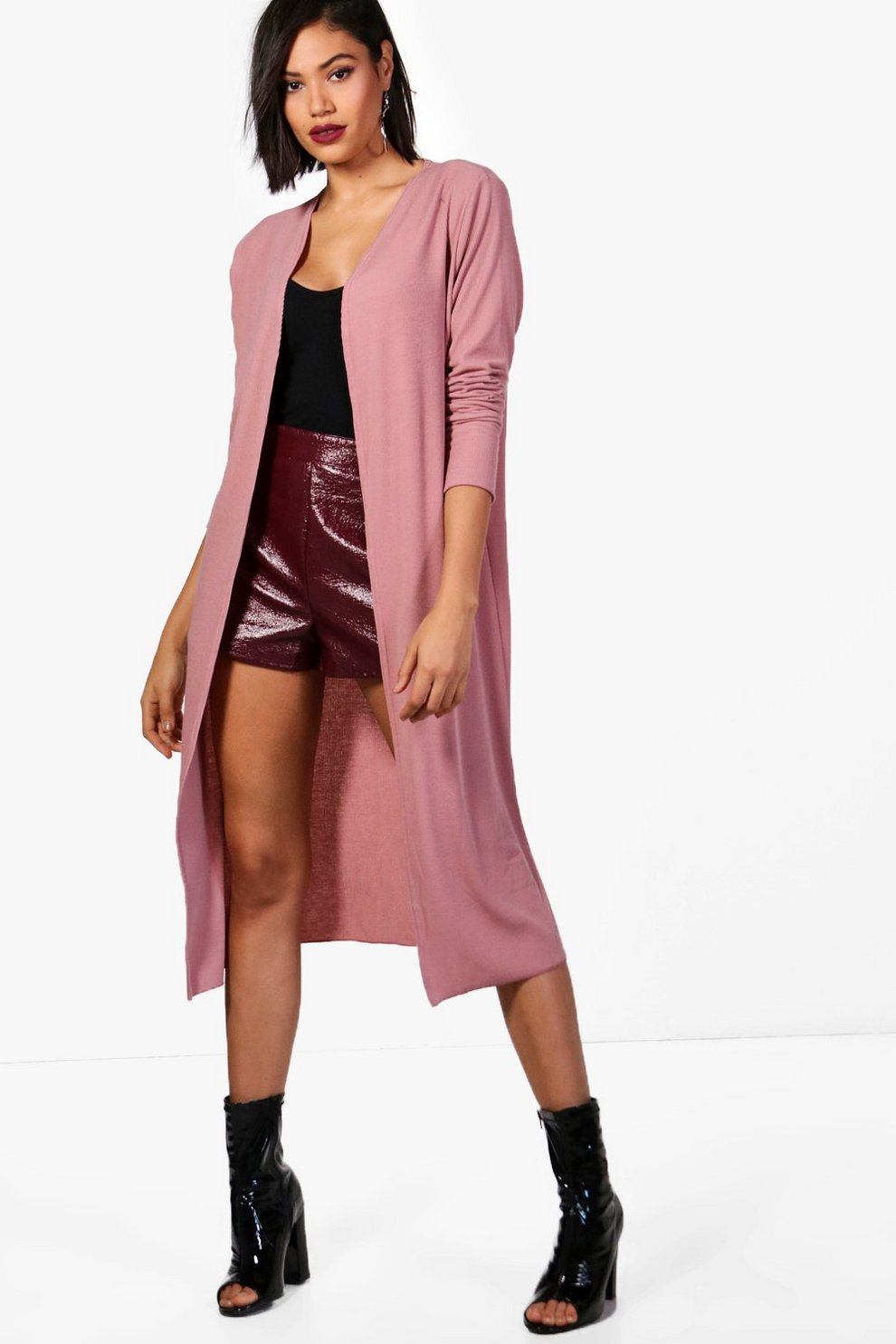 Holly Maxi Cardigan | Boohoo