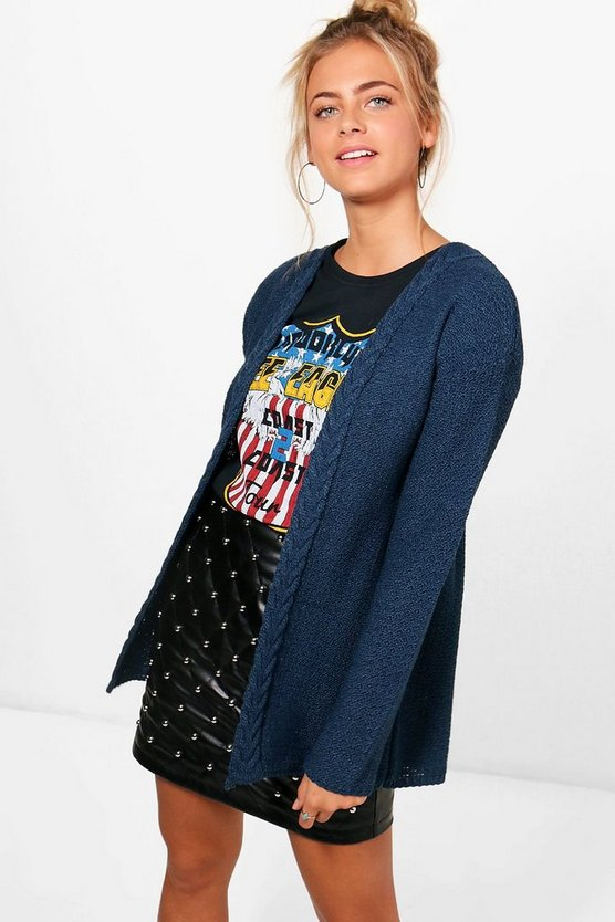 Jodie Cable Edge Cardigan