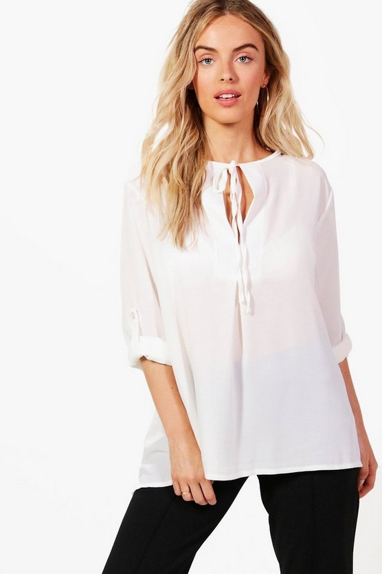 Molly Tie Neck Blouse