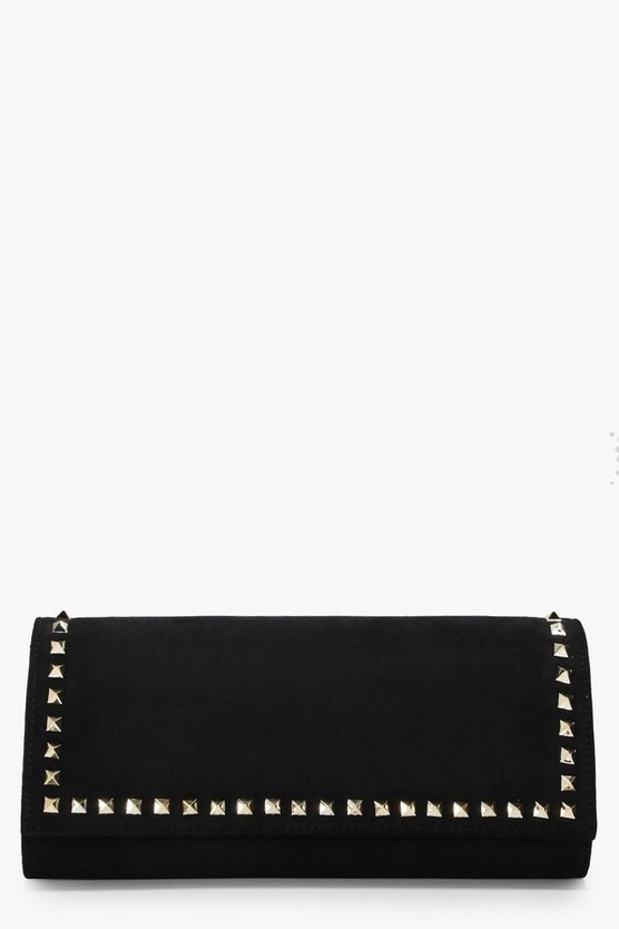 Erin Studded Clutch