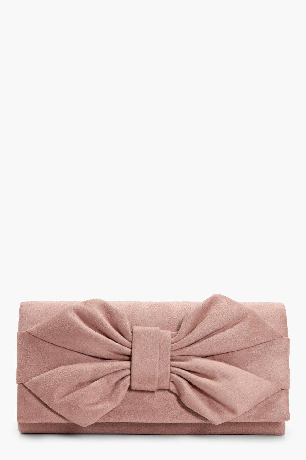 Bow Clutch - nude - Daisy Bow Clutch - nude