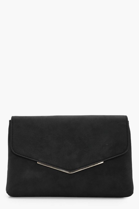 Isla Suedette Bag Clutch