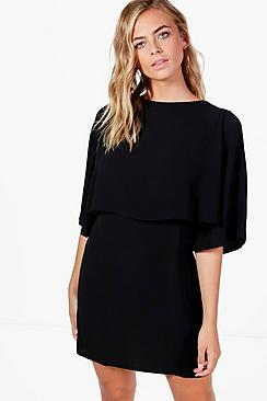 boohoo female diana layer shirt dress