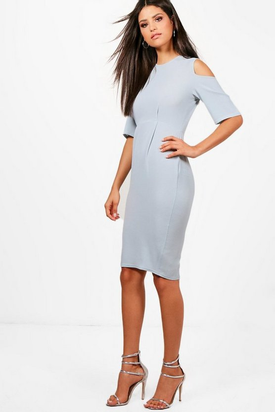 Daisy Cold Shoulder Midi Dress