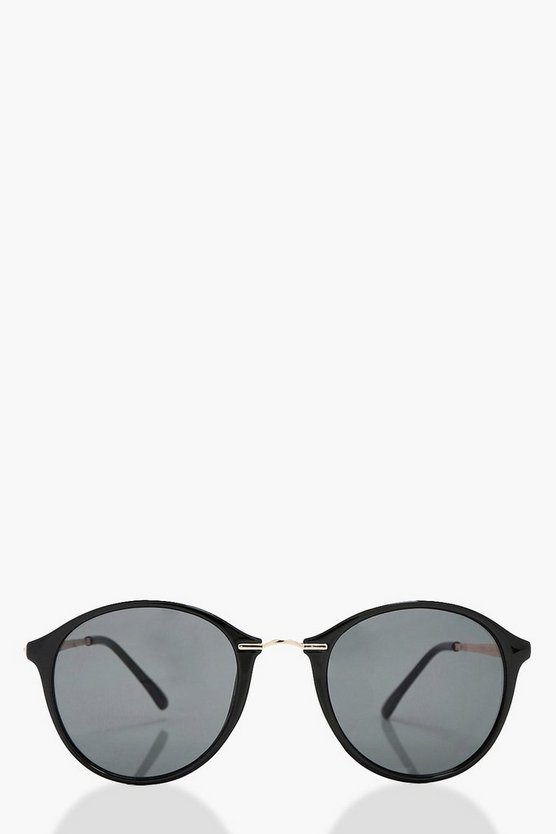 Bethany Large Round Sunglasses