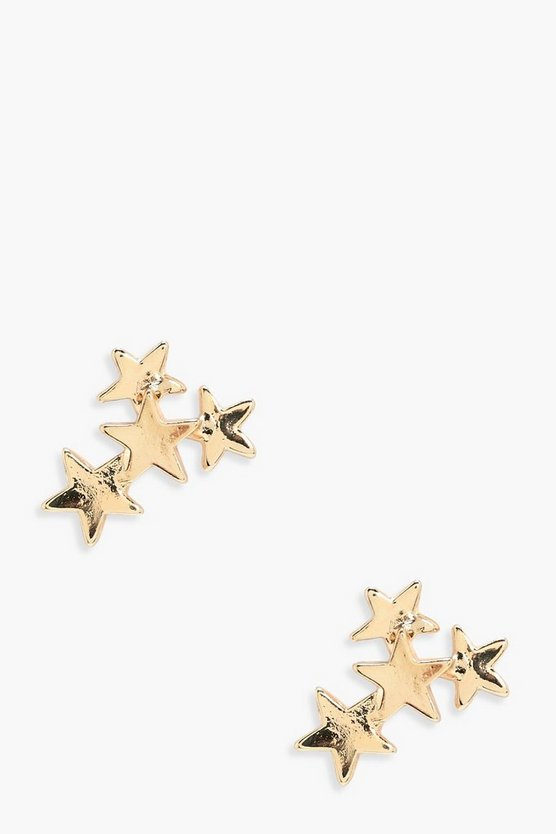 Megan Star Cluster Earrings