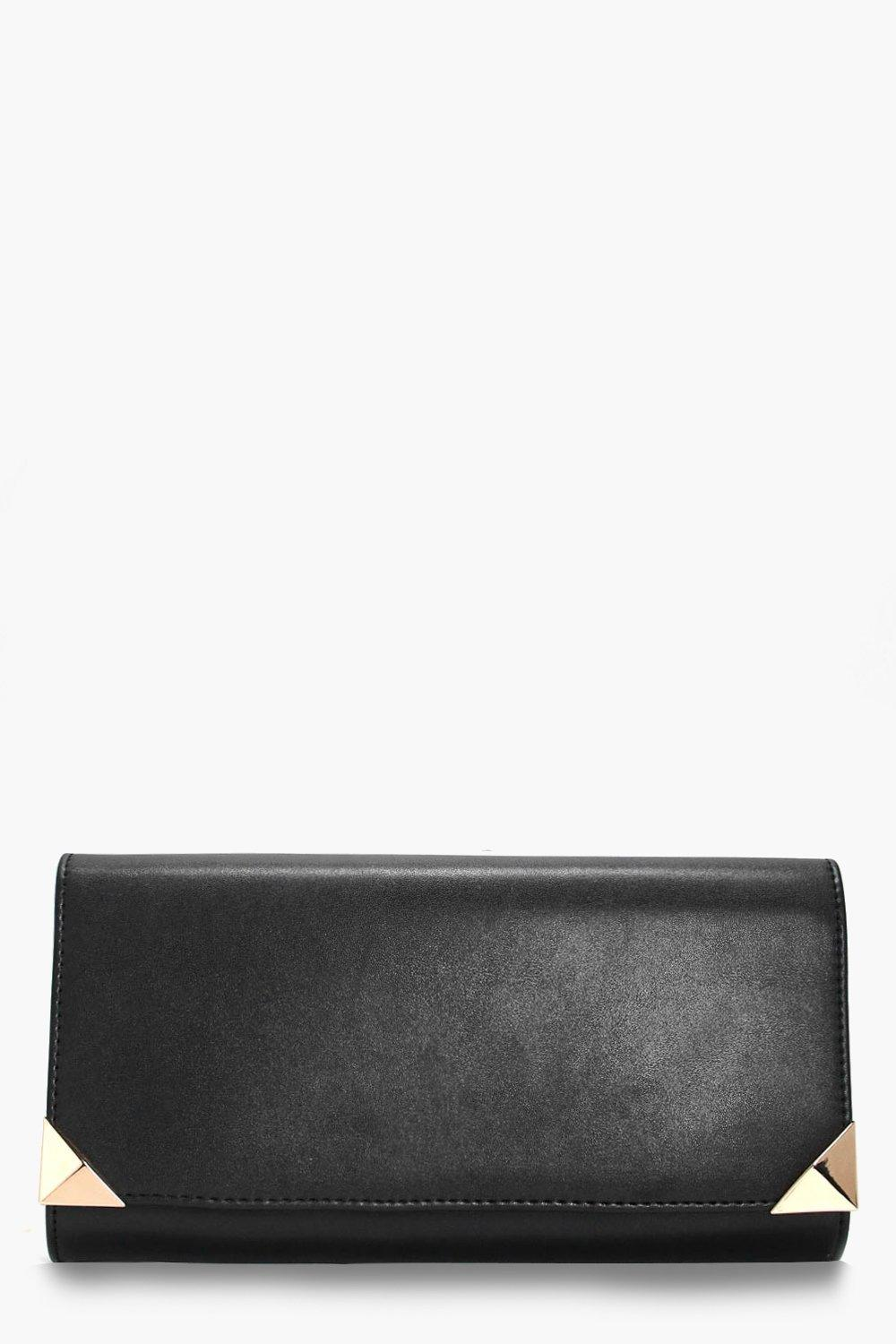 Corner Bar Clutch - black - Lacey Corner Bar Clutc