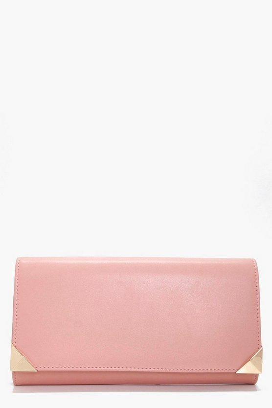 Lacey Corner Bar Clutch