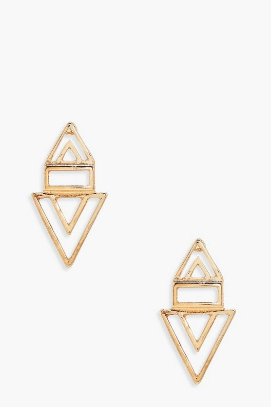 Niamh Geometric Stud Earrings