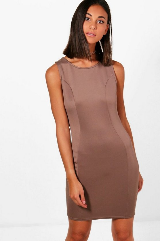 Lottie Tailored Panel Dress