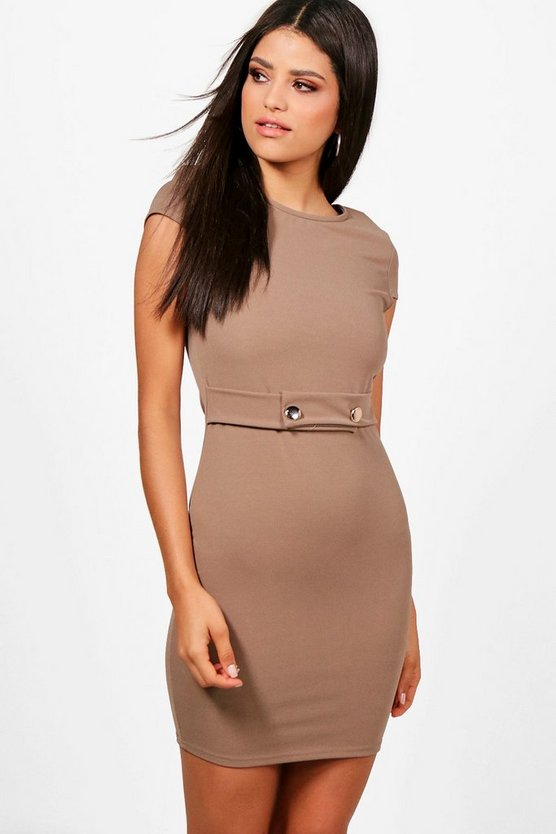 Cara Cap Sleeve Dress