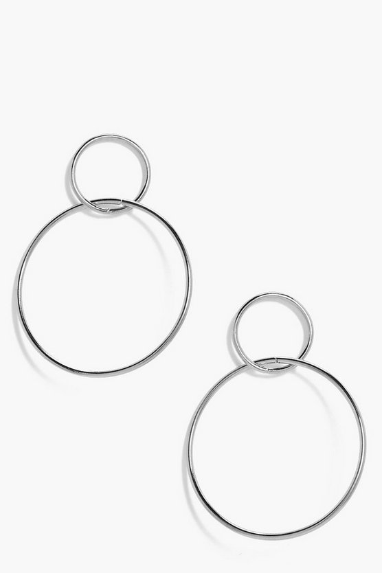 Kirsten Double Hoop Earrings