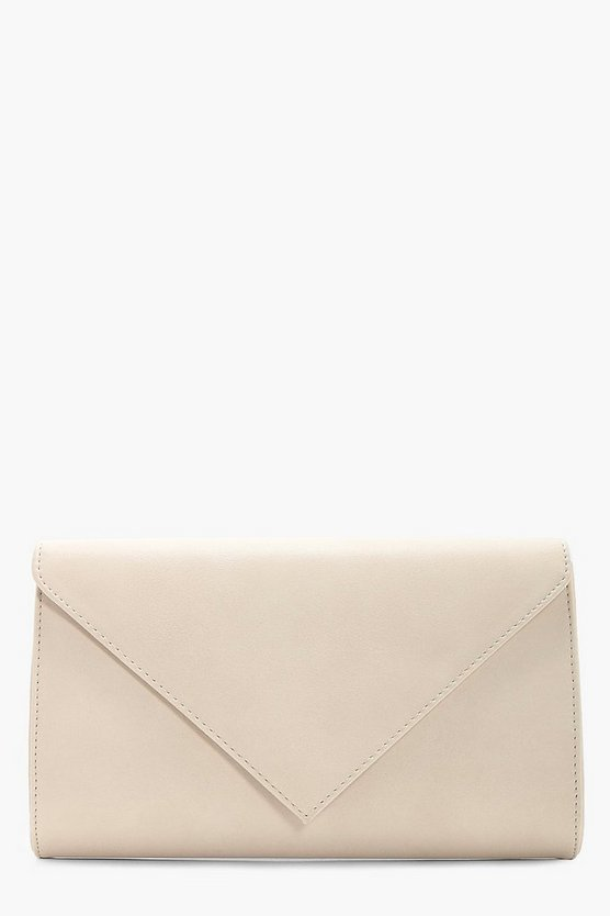 Ellie Envelope Clutch With Chain
