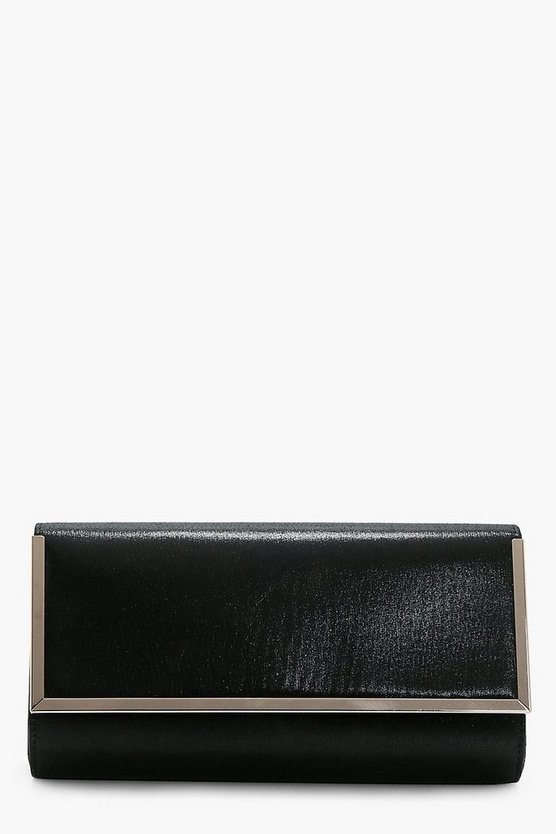 Jessica Metal Frame Clutch Bag