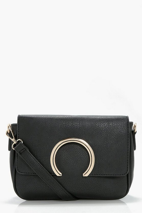 Abbie Metal Ring Cross Body