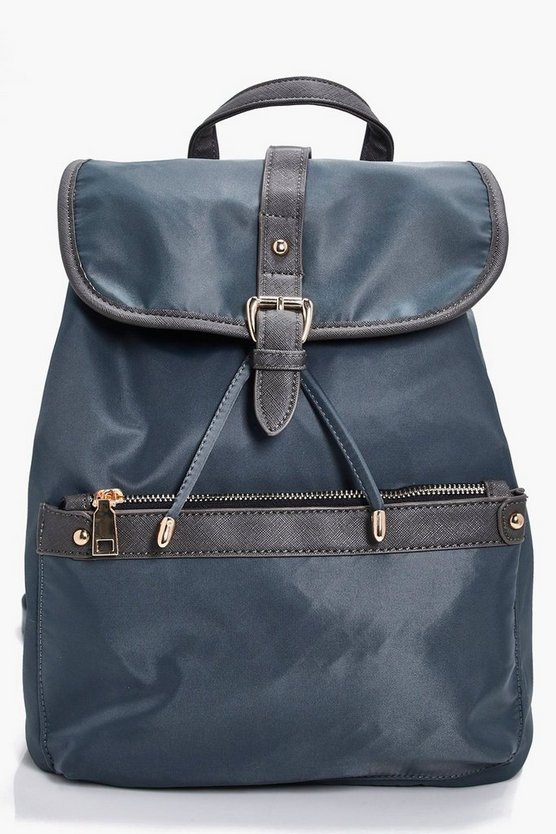 Millie Nylon Pocket Rucksack