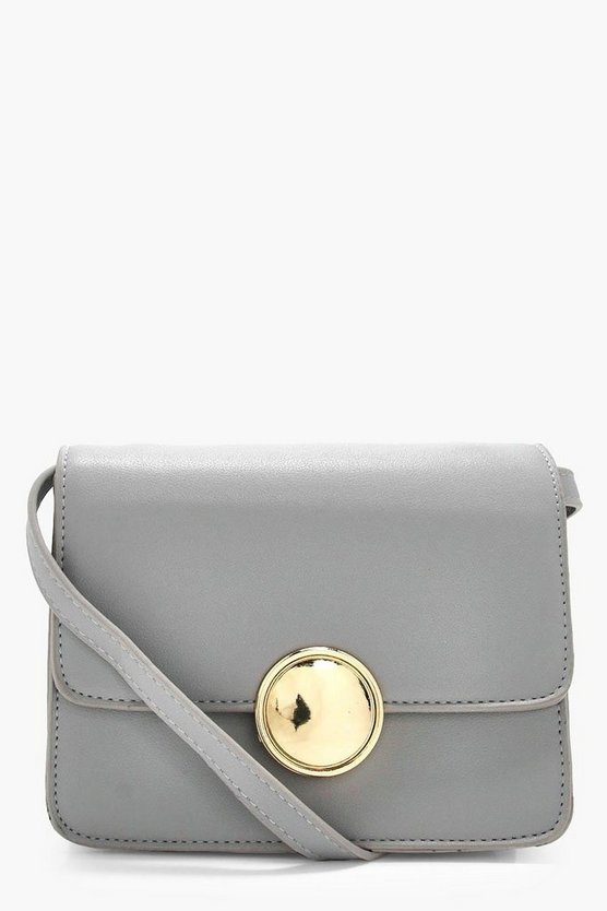 Daisy Circle Hardware Cross Body
