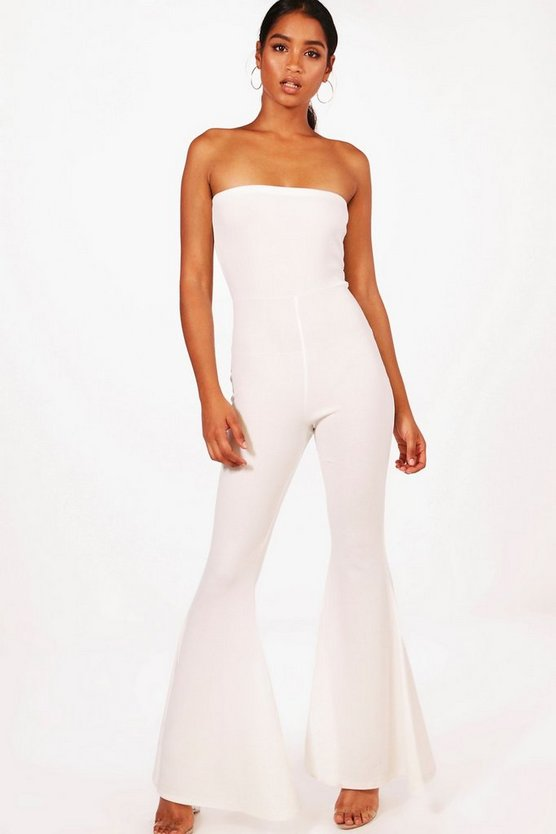 Rosie Bandeau Extreme Flare Jumpsuit